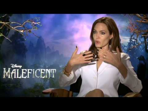 Angelina Jolie - Maleficent Interview
