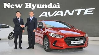 All-New Hyundai Elantra / Avante, introduced at the Namyang R&D Center Seoul in Korea