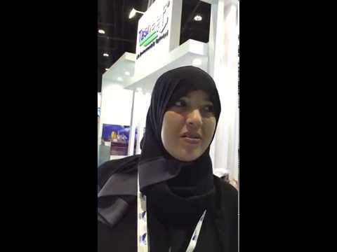 Ms. Fatma Dalhoumi, Public Relations Officer Tasneef UAE at SEA Trade 2015