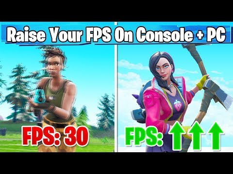 SIMPLE Way To Increase FPS In Fortnite! (Console + PC - Fortnite Boost FPS)