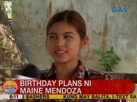 UB: Birthday plans ni Maine Mendoza