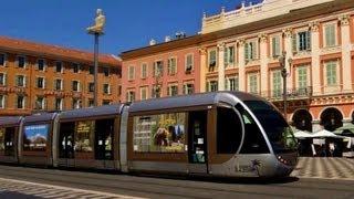 Trams in France : Le Tramway de Nice ...Artistique!