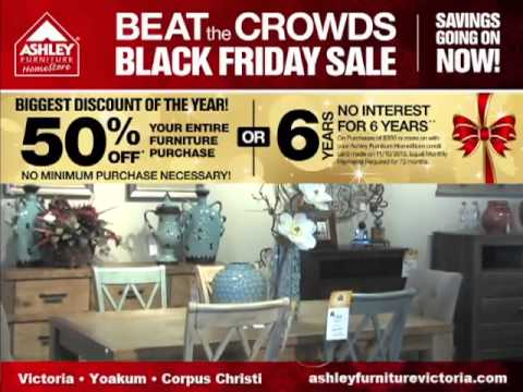 Ashley Furniture Homestore Victoria 2013 Beat The Crowd Black Friday Sale Youtube