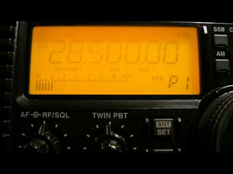28500khz,Ham Radio,UK8OM(Uzbekistan)09-50UTC.