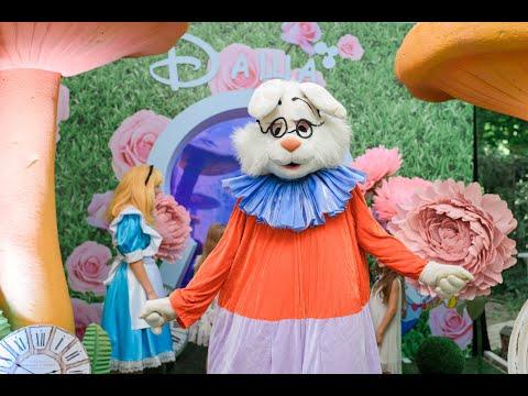 Детский День Рождения Одесса. Праздник в стиле Алиса в стране чудес. Агентство Marina Gabbana Kids