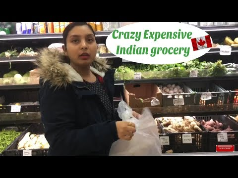 Let's Buy Groceries In An Indian Store| Canada Vlogs