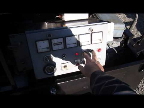 ASEA 37 kW trailer generator