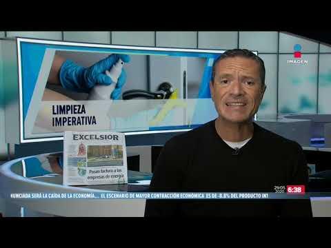 Llegó a México cuarto vuelo de EU con equipo médico | Noticias con Francisco Zea