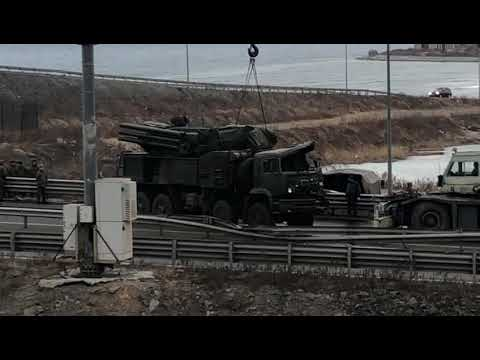 Названа предварительная причина ДТП с ракетным комплексом «Панцирь-С1» во Владивостоке