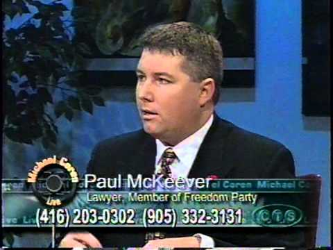 Paul McKeever - Michael Coren Live!: Genetic Diversity in the Workplace