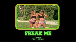 "Ciara - ""Freak Me"" ft Tekno Dance Video Twin Version #FreakMeChallenge"