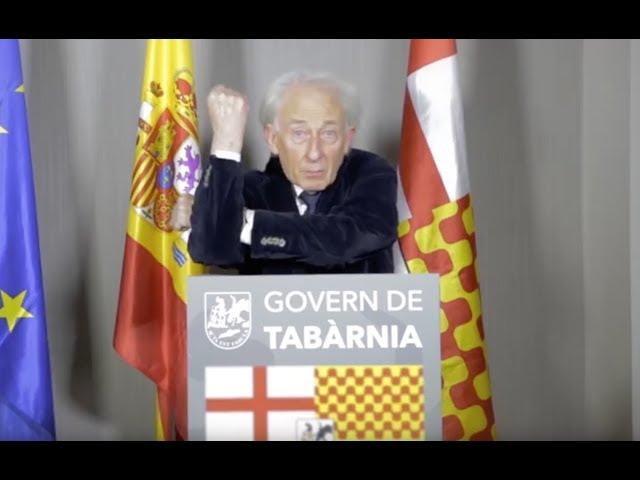 Primer discurso de Albert Boadella como presidente de Tabarnia