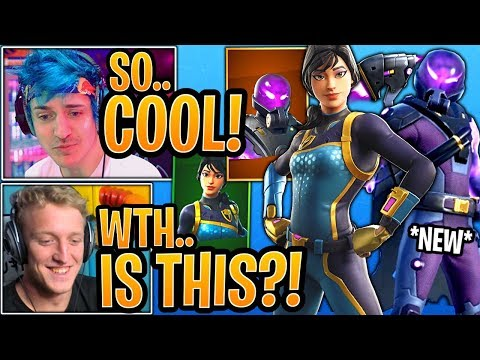 Streamers React to the *NEW* Tempest & Bolt Skins! - Fortnite Best Moments