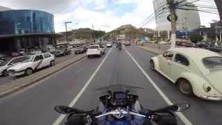 Passando em frente a BMW e HARLEY na Raja G. - Belo Horizonte - MG