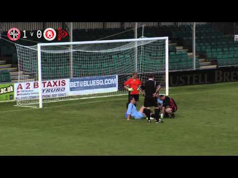 Truro City FC v Poole Town FC (H) - 6th October 2013 - Ladies
