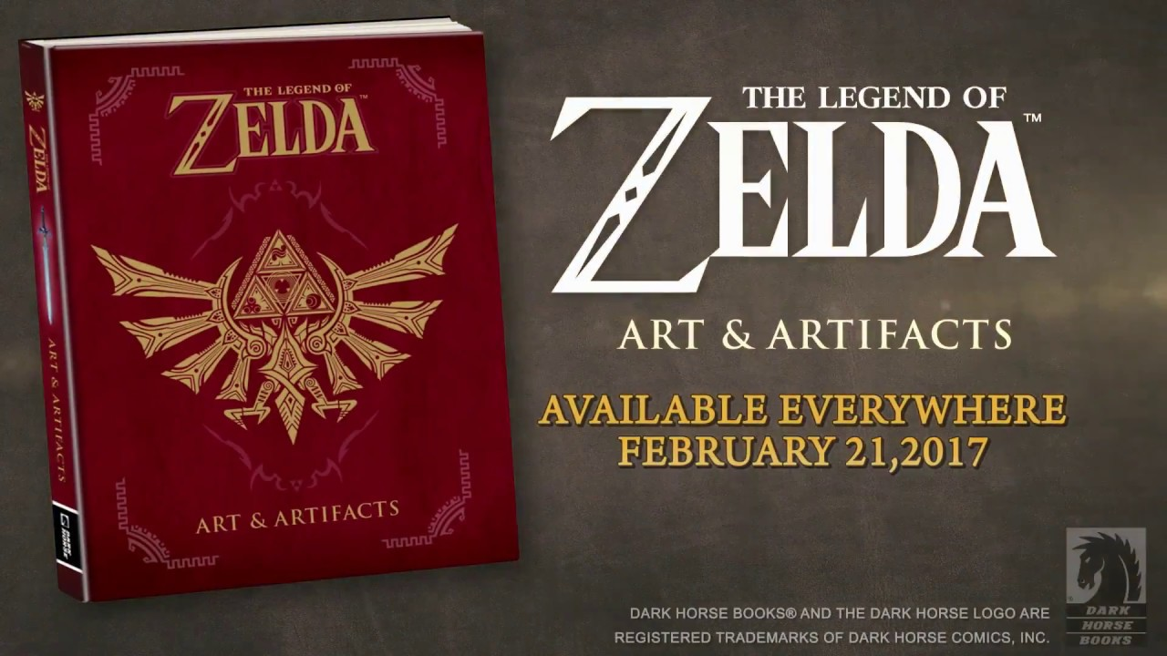 the legend of zelda art and artifacts pdf