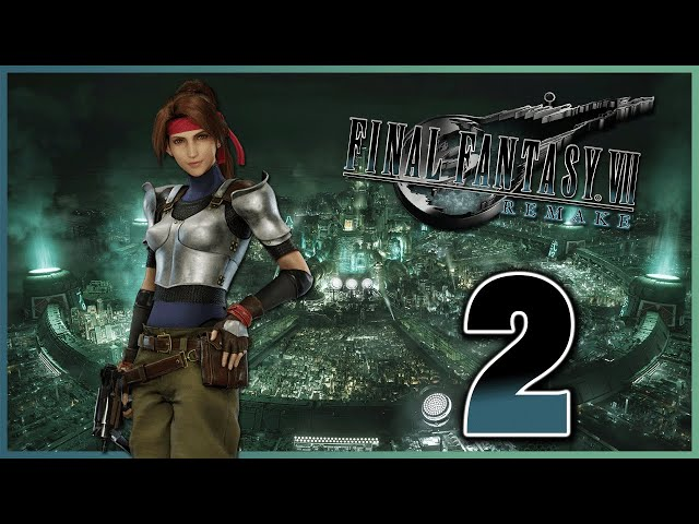 Let's Play Final Fantasy VII Remake [2] - Strife Savagery!