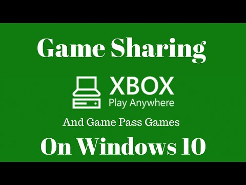 How to Do Game Sharing on Windows 10/Xbox One Play