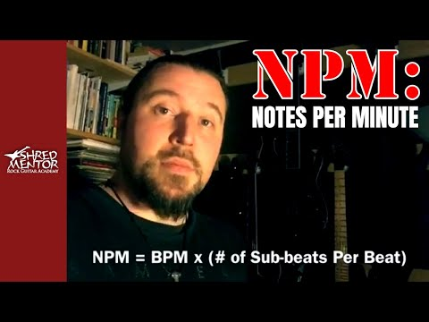 Find Your NPM, not just the BPM!