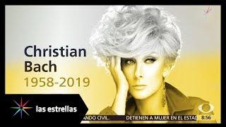 Fallece la actriz Christian Bach | Las Estrellas