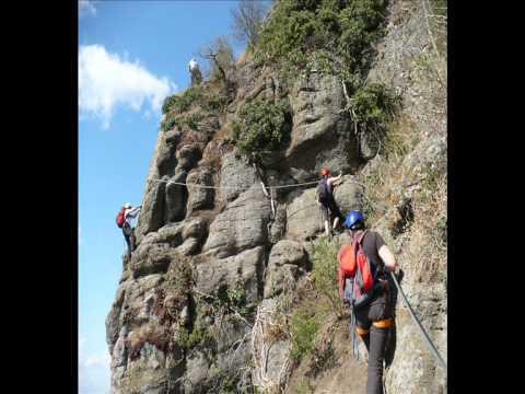 Klettersteig Riegersburg : Riegersburg leopold klettersteig wmv youtube