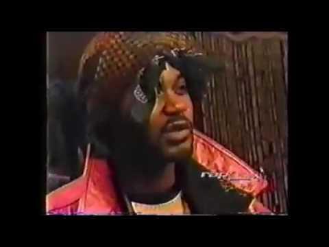 Ghostface Killah sons Big tigga in B.E.T. Basement!!