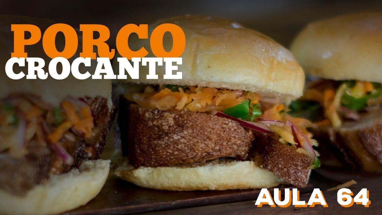 Barriga de Porco Crocante (Como pururucar pele de porco) / Cansei de Ser Chef