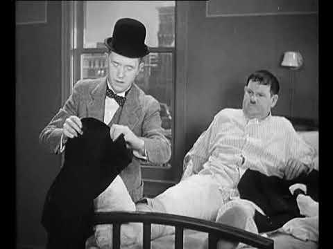 O Gordo E O Magro Silencio Hospital 1932 Youtube