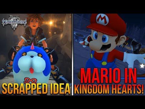 KH3 Scrapped Idea, Mario Mod For Kingdom Hearts 2, Keyblade Design Process