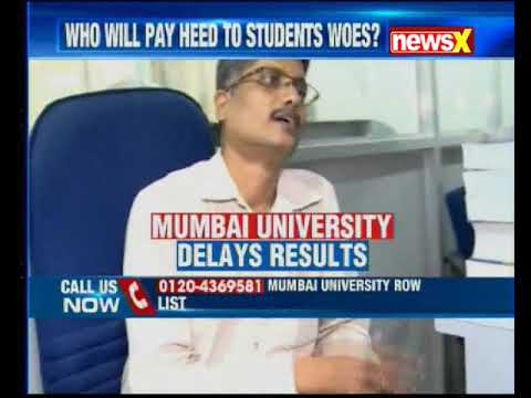 Mumbai University makes another excuse; sets 22nd Sept as deadline to declare results