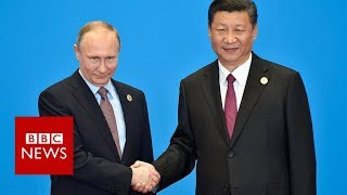 Trump: China and Russia rivals in 'new era of competition' - BBC News