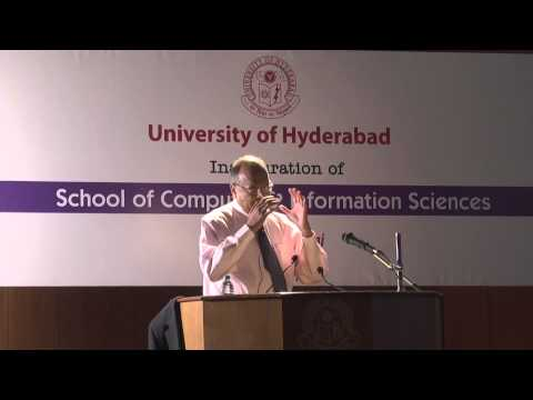 Foundation Day Lecture By Prof. Paul Raj