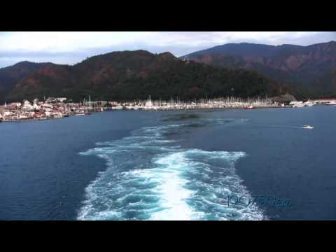 Marmaris greets and  captain of the port  Costa Atlantica