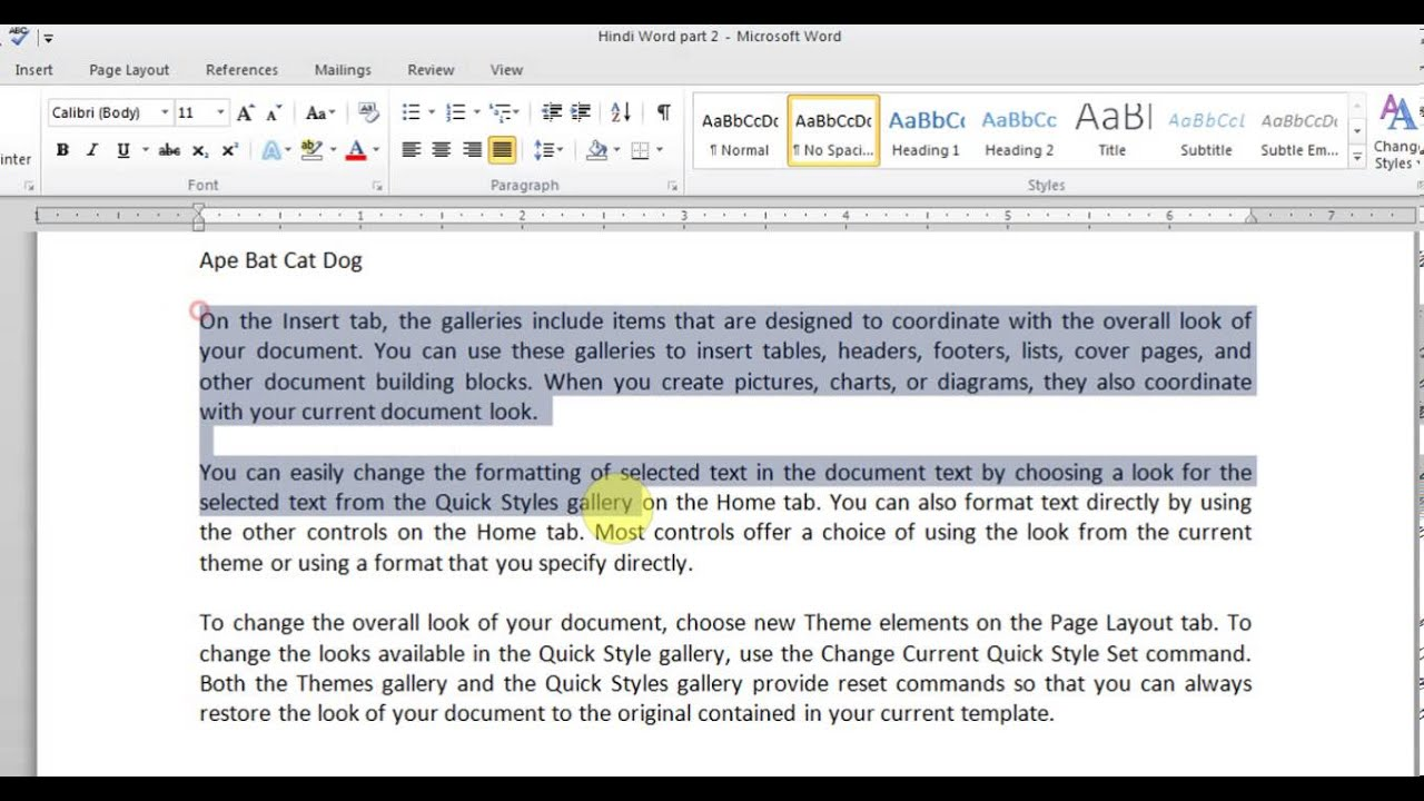 microsoft word pt 2 fonts alignment borders