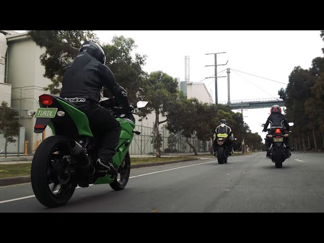 Vicroads: Custom Motorbike Plates   4K
