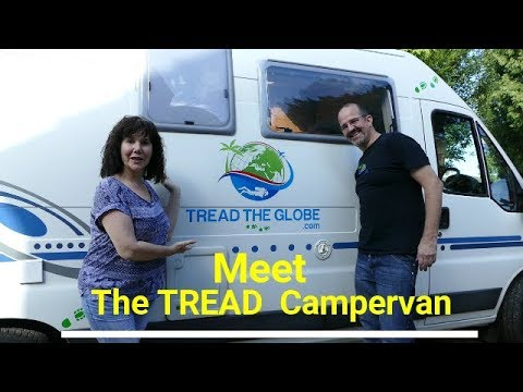 TREAD the Globe - A tour of our Campervan