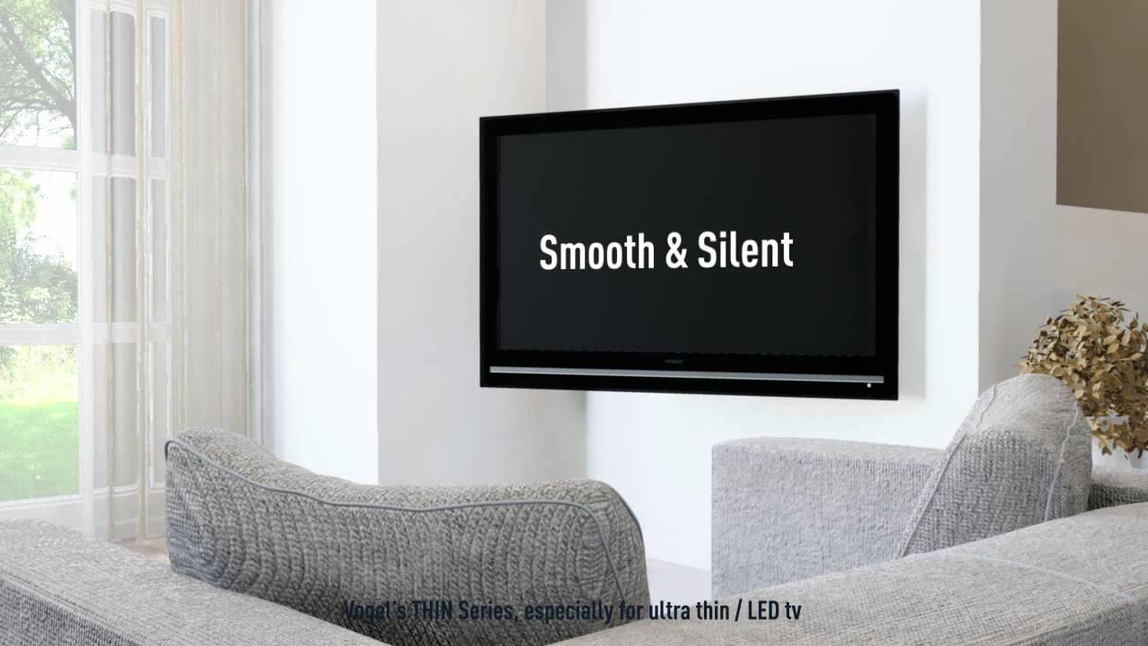 pr sentation du support tv motoris ultra plat vogel 39 s thin 355 youtube. Black Bedroom Furniture Sets. Home Design Ideas