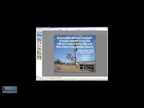 GeoTime Webinar: USGS - Wildlife Tracking Data Analysis