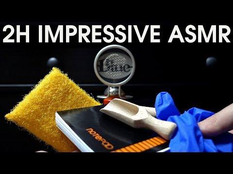 2 Hours Impressive ASMR 💛 💙 💜 💗 💚