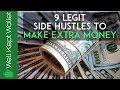 9 Legit Side Hustles To Make Extra Money