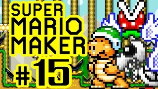SUPER MARIO MAKER # 15 ★ 100-Mario-Herausforderung Normal [HD | 60fps] Let