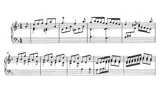 """Scarlatti Sonata in D minor """"Pastorale"""" K.9 - Paul Barton, HP piano"""