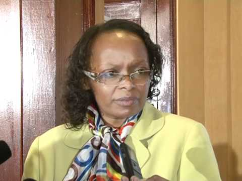 Stella Kilonzo,MBS -(C E O- Capital Markets Authority) on proposed market for SME's in Kenya