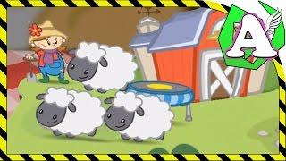 Животные на ферме. Считаем до 10. Говорят животные. Животные для детей.