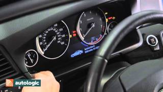 BMW 5 Series F10   Viewing Electrical System Voltage Through the Instrument Cluster HD