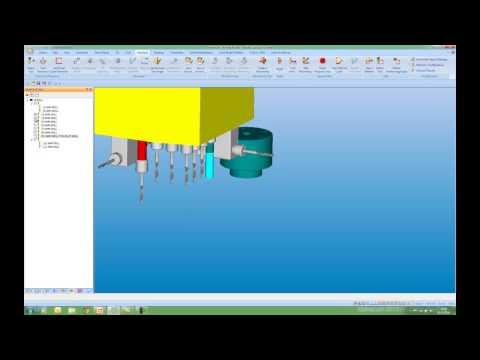 Alphacam 2015 R1 - Multi Drill