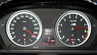 BMW M5 V10 com Escape Direto