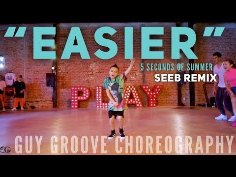 """Easier"" | @5sos @seeb | @GuyGroove Choreography"