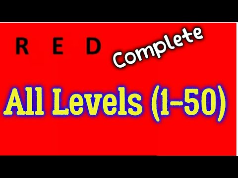 Red Game All Levels (1-50) Bart Bonte Game Android iOS