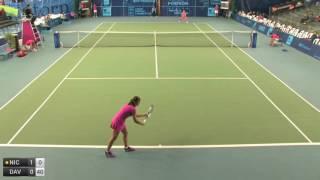 Niculescu Monica v Davis Lauren - 2016 ITF Poitiers